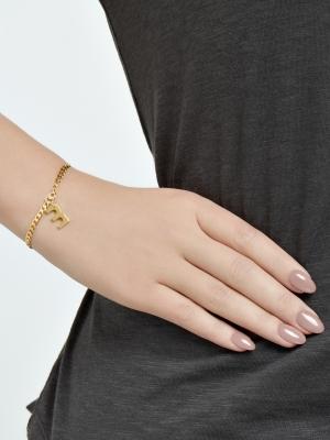 Złota bransoletka z grubego łańcuszka minimalistyczna biżuteria moie