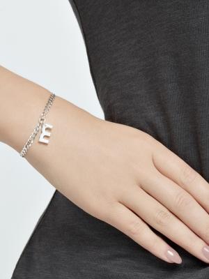 Srebrna bransoletka z grubego łańcuszka minimalistyczna biżuteria moie