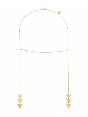 moie złoty naszyjnik boho minimalistyczna biżuteria moie