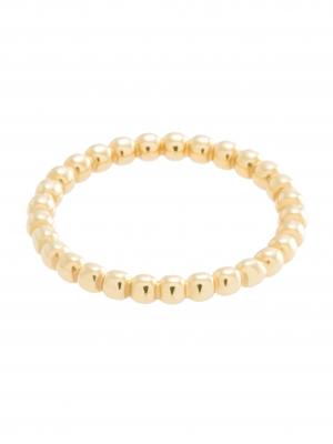 moie Złoty pierścionek z kuleczek minimalistyczna biżuteria moie