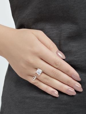 Srebrny pierścionek z cyrkonią minimalistyczna biżuteria moie