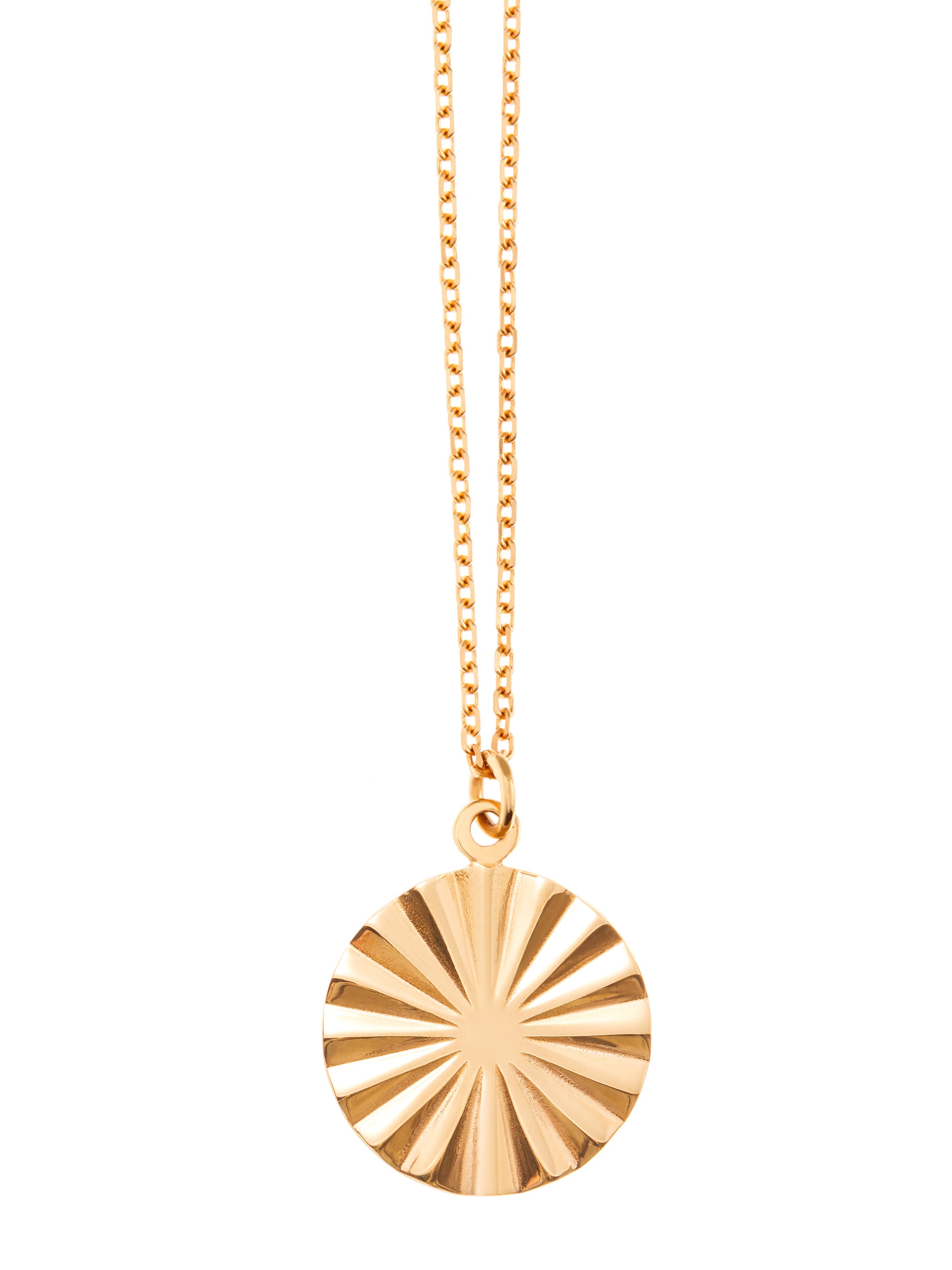 Łańcuszek z geometryczną zawieszką naszyjnik re4 gold złoto minimalistyczna biżuteria moie